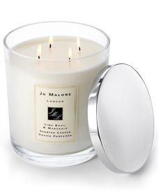 This scent, Lime Basil & Mandarin will captivate the room.