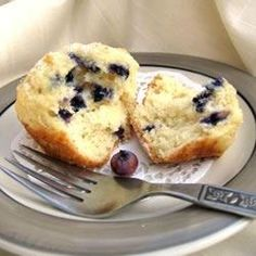 Best of the Best Blueberry Muffins Allrecipes.com