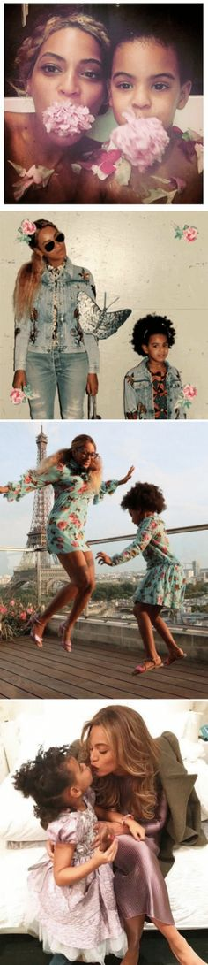 Beyoncé and Blue Ivy are way too cute
