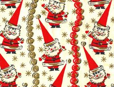 Funky Santa Wrapping Paper | Flickr - Photo Sharing!