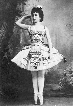 "Mathilde Kschessinska, ballerina, in ""Pharoah's Daughter"""