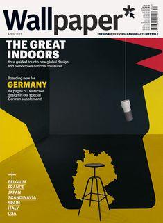 Germany, Noma Bar 3D Illustration Series for Wallpaper* Magazine ::: www.dutchuncle.co.uk/noma-bar-images