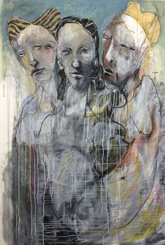 Featuring work by Veronica Cay - available at Anthea Polson Art on the Gold Coast Australia, specialising in contemporary Australian art and sculpture Figurative Kunst, Gold Coast Australia, A Level Art, Buddhist Art, Art Themes, Australian Artists, Figure Drawing, Figure Painting, Mixed Media Art