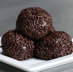 Classic Brigadeiro | Here's Four Delicious Brazilian Truffle Recipes You Have To…