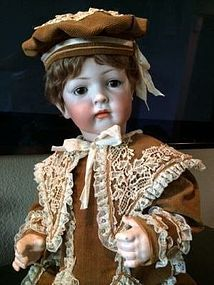 Bruno Schmidt Character Boy Pouty Closed Mouth_chubby body_rosy cheeks #dollshopsunited