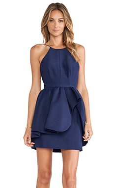 Shop for Cameo Alone Tonight Dress in Navy Blue at REVOLVE. Free 2-3 day shipping and returns, 30 day price match guarantee.