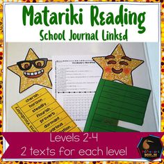 Matariki School Journal linked activities Matariki linked reading and literacy activities. These are level 2 to level 4 reading activities that also make links to the social studies and science AOs. Uses School Journals and Connected from 2003 forward. Reading Activities, Literacy Activities, Teaching Resources, Science Anchor Charts, Personal Narrative Writing, Us School, Montessori Elementary, Word Study, Quotes For Students