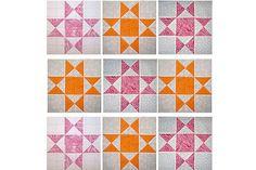 Ohio Star Quilt Block Pattern