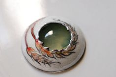 Wheat Volcano with Prehnite by sunnyrisingleather, via Flickr