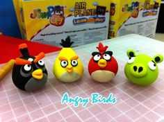 I soo wanna make these ones, gonna try (Jumping Clay . Singapore)