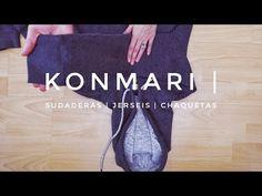 Cómo doblar toallas, trapos & servilletas   Método KonMari por Marie Kondo - YouTube