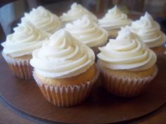 Natural Chow | Healthy Vanilla Cupcakes From Scratch {With Real Buttercream Frosting} | http://naturalchow.com