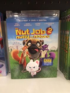 The Nut Job, Will Arnett, Dvd Blu Ray, Frosted Flakes, Maya, Cereal, Box, Snare Drum, Maya Civilization