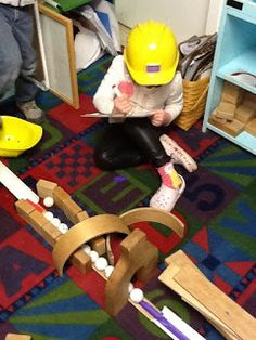 Playfully Learning: A Problem Solving Challenge In the Preschool Class