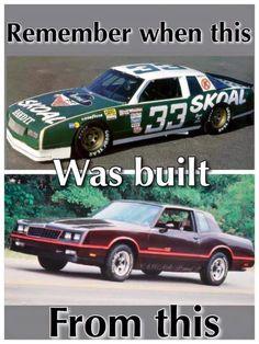 Yep Me: Don't remember but okay Nascar Autos, Nascar Race Cars, Real Racing, Auto Racing, Dirt Racing, Racing Quotes, Chevrolet Monte Carlo, Vintage Race Car, Custom Cars