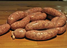 Home Made Bacon and Sausages: My Home Made Pork Sausages