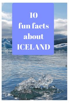 10 fun #facts about #Iceland #travel #Europe