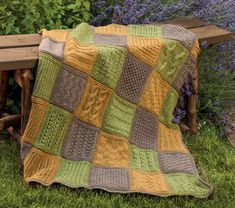 Ever wanted to knit a blanket? Now you can with the 80 knitting stitches and 11 blanket patterns in Pick a Stitch, Build a Blanket—or design your own!