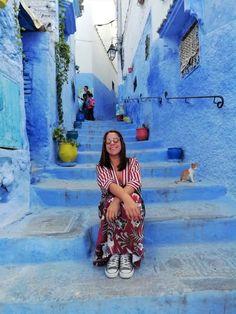 Um dia em Chefchaouen Marrakech, Grand Mosque, Aguas Frescas, 15th Century, Blue Home, Morocco, The Journey, Places, City