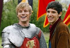 """""""When I first met Colin, I couldn't understand a thing he said."""" - Bradley  from Merlin, miss it already."""