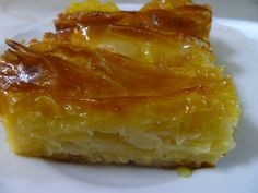 See related links to what you are looking for. Greek Sweets, Greek Desserts, Greek Recipes, Cypriot Food, Lasagna, Macaroni And Cheese, Food To Make, Dairy Free, Sweet Tooth