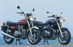 1977 Kawasaki Z1000  1992 Kawasaki Zephyr 1100