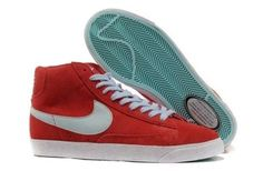 online store b6a98 4a46d Nike Shoes Online Popular Blazer Poopular Red
