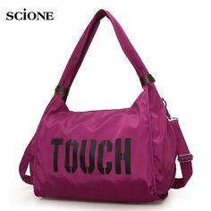 Only US  17.13 Sport Bag Women Training Gym Fitness Travel Bags Durable  Waterproof Nylon Outdoor Sports 15eb12b1cdbca
