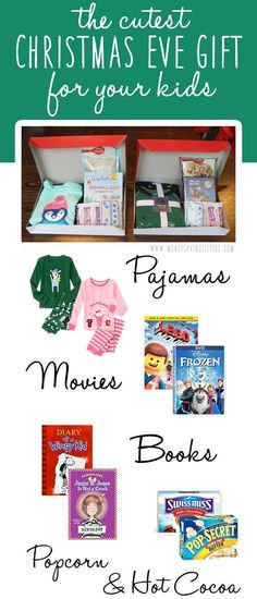 Love the idea of giving this to the kids on Christmas Eve!