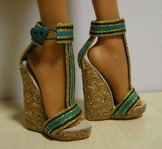 pour faire des chaussures pour Barbie