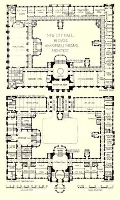 plans of the new city hall belfast