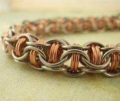Captured Inverted Round Bracelet   Intermediate by UnkamenSupplies, $40.00