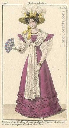 1825 purple dress