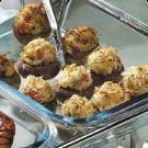Crab & blue cheese Stuffed Mushrooms