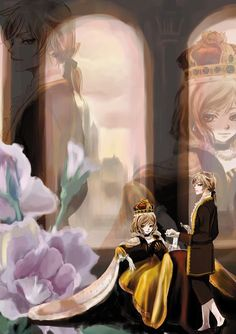 Kagamine Rin and Len Servant of Evil