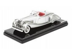 The TrueScale Minitatures 1/43 Duesenberg SJ 1935 Gurney Nutting Speedster is part of the TrueScale Miniatures 1/43 scale diecast model car range and displays some fantastic and intricate details.