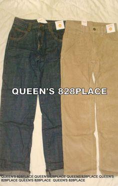NWT Boy/'s Gymboree brown tan khaki adjustable waist dress pants ~ 2T 3T