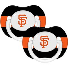 Baby Fanatic MLB 2-Pack Baby Pacifiers, San Francisco Giants for my future grandchild!!