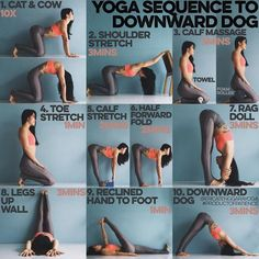 Yoga Sequence to Downward Dog