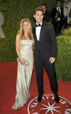 John Mayer & Jennifer Aniston - Serial dater John messed up this relationship. His roving eye got him booted...