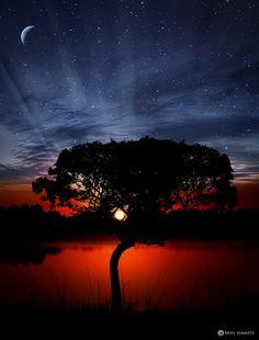 ♥ Sunset ♥ by Bess Hamiti, via 500px