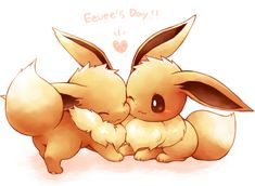 Eevee is a Pokemon which is cute and cool because it can be evolving in 8 different Pokemon. Description from pinterest.com. I searched for this on bing.com/images