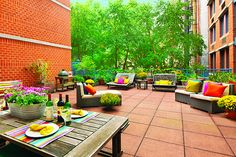 Loft-Like With 1,200SF Terrace. 404 East 76th Street 2B, Upper Eastside, New York, Represented exclusively by Mindy Feldman. See more eye candy on this home at http://www.halstead.com/sale/ny/manhattan/upper-eastside/404-east-76th-street/condo/3840109