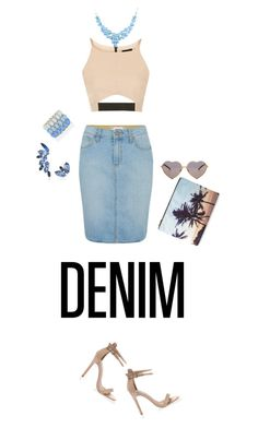 """Senza titolo #3542"" by lisadcruciani ❤ liked on Polyvore featuring Paige Denim, Topshop, Forever 21, Wildfox, OLYA SHIKHOVA, Forever New, women's clothing, women, female and woman"