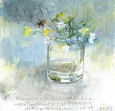 flowers for filifionka_olya — kurt jackson Kurt Jackson, Painting Still Life, Still Life Art, Garden Painting, Painting & Drawing, Still Life Flowers, Arte Floral, Art Graphique, Watercolor Paintings