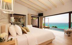 Habitación con vista al mar hd 1920x1200 - imagenes - wallpapers gratis - Variados, Diseños e interiores - fondos de pantallas hd #657