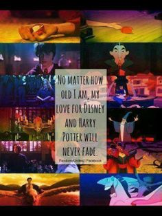 Harry Potter Disney movies are timeless. except Snape isn't bad really. and Jafar is and he is HORRIBLE! Disney Love, Disney Magic, Disney Pixar, Disney Nerd, Disney Memes, Disney Quotes, Disney Stuff, Harry Potter Disney, Harry Potter Love