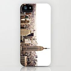 New York City Skyline iPhone & iPod Case by Vivienne Gucwa - $35.00