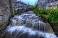 Download wallpaper Waterfall, Hawes, North Yorkshire, england free ...