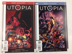 DARK AVENGERS #7 & #8, X-MEN: UTOPIA Marvel Comics, Lot of 2 In VF/NM condition.  Photos are of the actual comics you will receive. We are not profes... #comics #marvel #utopia #avengers #dark